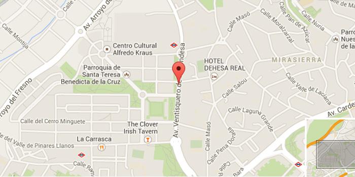 Dirección Ventisquero de la Condesa 27, 28035, Madrid, España